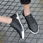 Men' s Solid Color Casual Sneakers