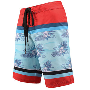 Men's Beach Board Shorts Floral Pattern Swimming Pants