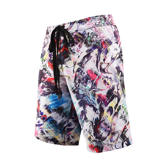 Men's Beach Board Shorts Ugly Swimming Pants