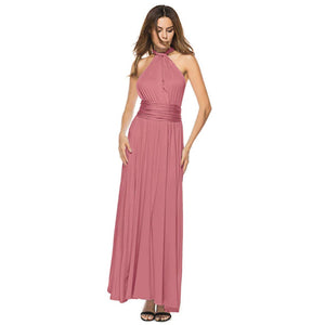 Bridesmaid Multiway Dresses Wedding Party Pink Color