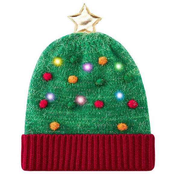 LED Light Up Hats Ugly Christmas Hats