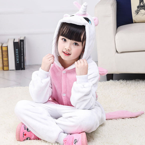 Child Romper Pink Unicorn Costume for Kids Onesie Pajamas for Girls Boys