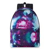 Raisevern Galaxy Backpack Cute for School Girls College Bookbag