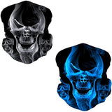 2Pcs multifunction seamless bandana