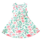 Doll Clothes Flamingo Tutu Dress