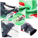 Cat Fly Shirt Teen Funny Ugly Christmas Sweater