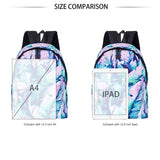 Backpacks for School  Banana Leaves Waterproof Bookbag for Boys Girls