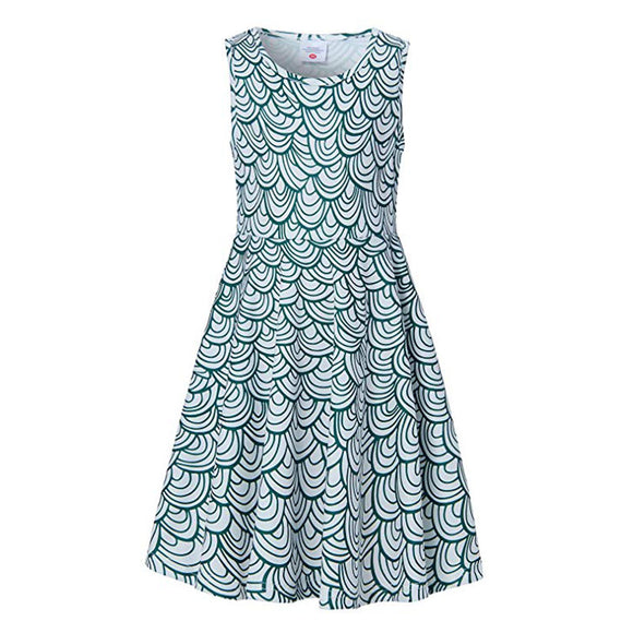 Little Girls Mermaid Midi Dress