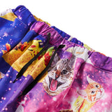 Mens Jogger Pants 3D Printing Taco Cat Pattern Trousers