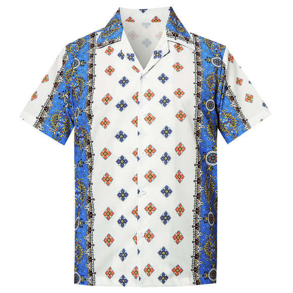 Men's Hawaiian Shirt Floral Pattern Printing
