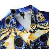 Men's Hawaiian Shirts Peacock Pattern Printing