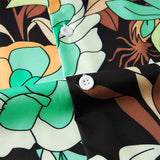 Men's Hawaiian Shirts Flowers Printed