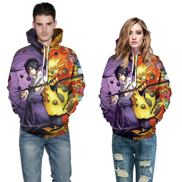 Mens Hoodies 3D Printed Dragon Ball Printing Pullover Sweatshirts