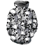 Mens Hoodies 3D Printed Halloween Shantou Printing Hooded