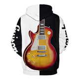 Mens Hoodies 3D Graphic Printed Cool Guitar Pullover
