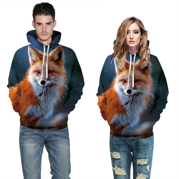 Mens Hoodies 3D Graphic Printed Cute Dog Pullover Hoody