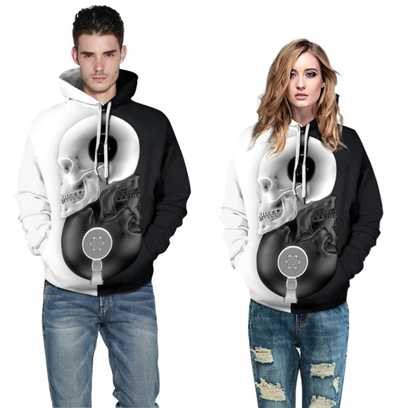 Mens Hoodies 3D Printed Aesthetic Witchcraft Pattern