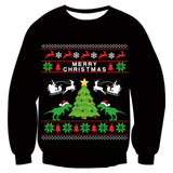 Mens Womens Funny Christmas Tree Sweater