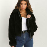 2019 Women Faux Fur Winter Jacket Coats