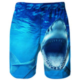 Raisevern Ocean Shark Beach Board Shorts