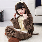 Child Romper Mouse Pattern Costume for Kids Onesie Pajamas for Girls Boys