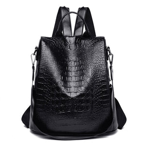 2020 Women Leather Backpacks