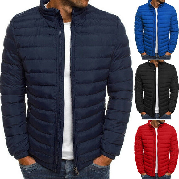 Men's Puffer Bubble Down Jacket Coat