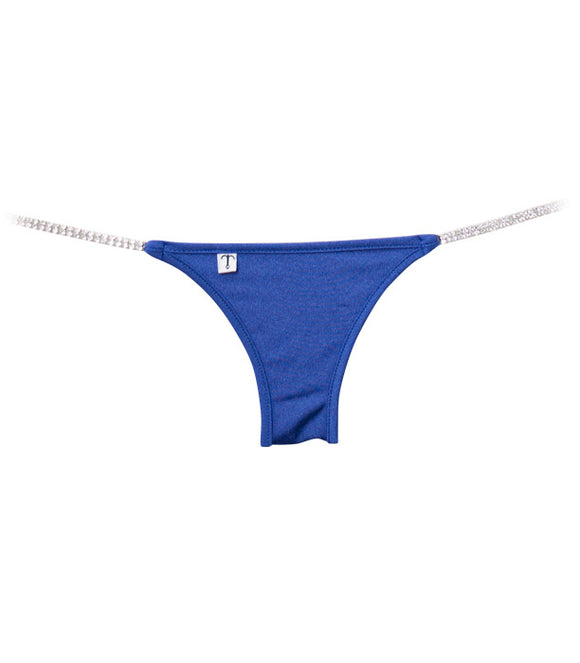 Royal Blue Brazilian Half Pucker Bottom