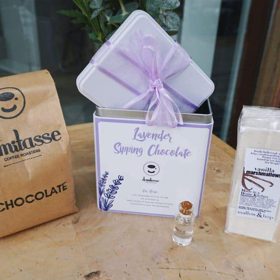 Demitasse Lavender Hot Chocolate Kit