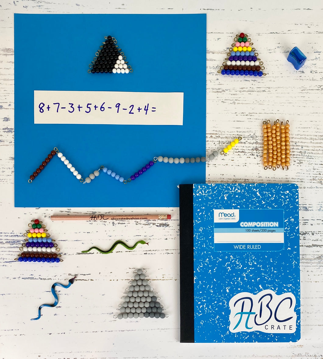 Math Snake Game's Kit