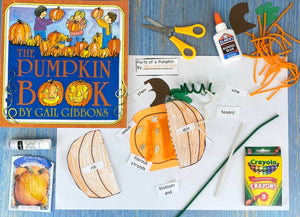 Parts of a Pumpkin Craft Kit