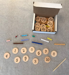 Math Activities for Numerals 0-20 for ages 3-7, materials and plans