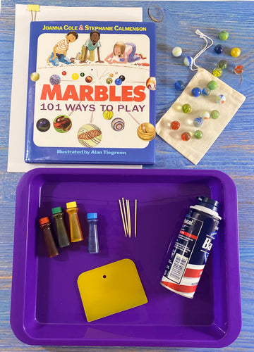 Marbleizing Paper and Marble Games Kit