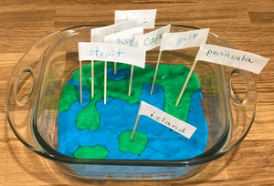 Geography Kit 1: Land and Water Forms