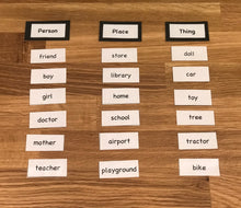 Grammar Kit 1: Noun Family