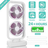 OPOLAR Desktop High Capacity Usb Charging Office Home Desk Fan
