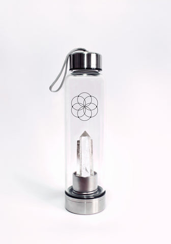 Clear Quartz Bottle