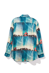 Big Wave L/S Silk Shirt