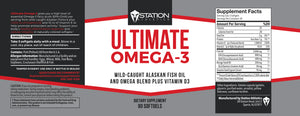 Station Athletics Ultimate Omega-3