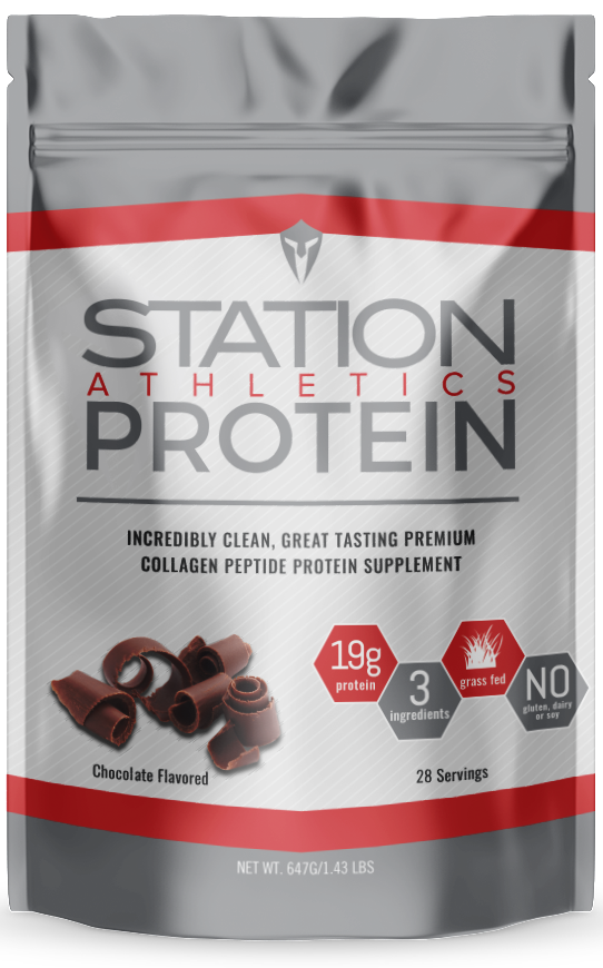 Station Athletics Protein - Chocolate