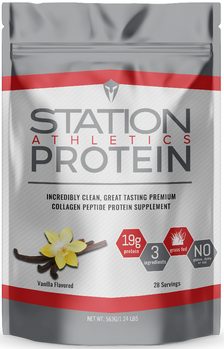 Station Athletics Protein - Vanilla
