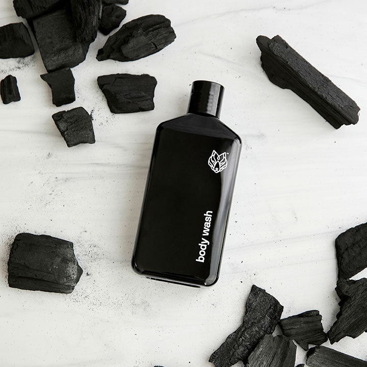 activated charcoal body wash (3-pack)