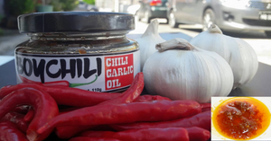 Boychili - Chili Garlic Oil 100g (2 bots)