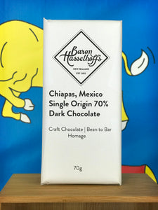 Chiapas, Mexico. Single Origin 70% Dark Chocolate