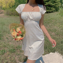 Load image into Gallery viewer, Sadie White Milkmaid Dress