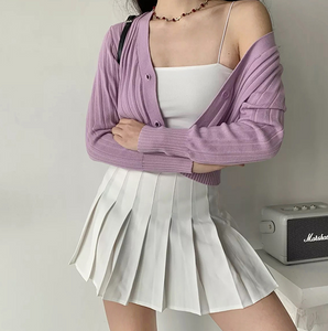 Ina High Waisted Y2k Tennis Skirt
