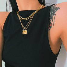 Load image into Gallery viewer, 18k Gold Plated Female Body Necklace
