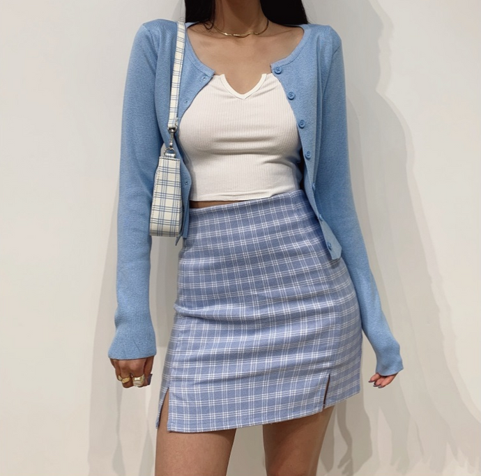 Holly Light Blue Skirt