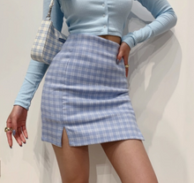 Load image into Gallery viewer, Holly Light Blue Skirt