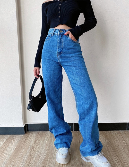 Louise High Waisted Loose Denim Jeans